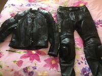 Frank Thomas Motorbike leathers (2 piece)