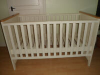 John Lewis ivory cot bed (for baby-toddler)