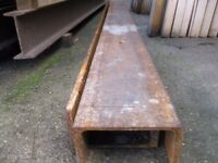 [ - Shaped Beams For Sale, They Are 11ft Long, & £35 each! **HEAVY ITEM**