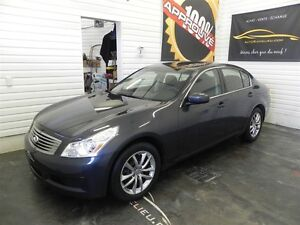 2009 Infiniti G37X Luxury AWD * Cuir * Toit ouvrant* Navigation