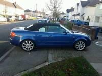 Audi A4 convertible £3999ono