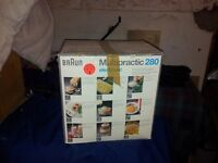 braun food processor for sale as new never used