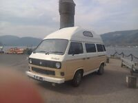 "T25 Volkswagon Campervan ""Bridgit"". 1985 MOT until May 2017."