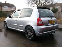 Renault Clio 172/182 Low mileage, Well looked after