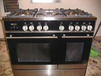 Kenwood 5 burner range cooker
