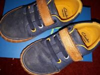 Clarks 6 and half F shoes
