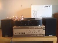 Marantz PM5004 2-Channel Amp & Tannoy Mercury V1 Speakers