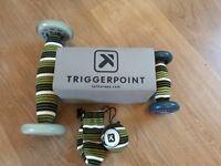 Trigger Point Quadballer, Footballer and massage ball