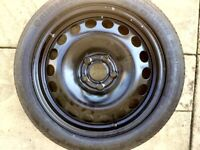 Vauxhall Astra spare wheel (space saver) 2013