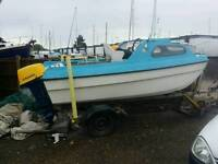 Dory pilot 17 with suzuki 40 hp outboard