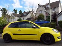 12 MONTH WARRANTY! (2007) FORD FIESTA ZETEC S Anniversary Celebration NO 221 YELLOW Low Mileage- FSH
