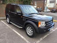 2007 LAND ROVER DISCOVERY 2.7 SERVICE HISTORY NEW MOT