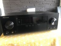 Pioneer VSX-923 7.2 Channel AV Receiver with 8x HDMI, AirPlay, DLNA, MHL, Remote Control App, Video