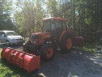 2001 Kubota M6800 tracteur FINANCEMENT SUR PLACE