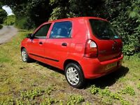 2004 SUZUKI ALTO 1.0 PERFECT CHEAP LITTLE RUNNER ONLY £30 A YEAR TAX VERY CLEAN THROUGHOUT