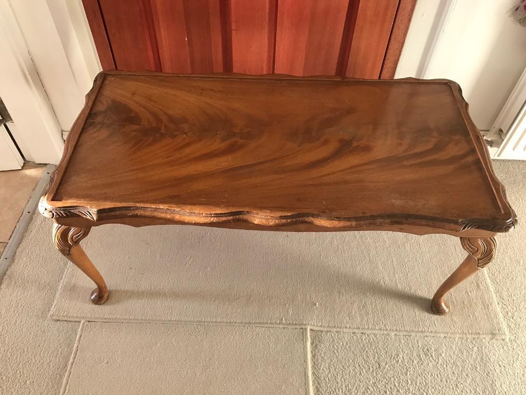 Vintage coffee table Ann's legs