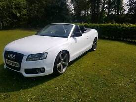 2009 audi a5 convertible 2.0 TDI S-LINE black edition A4 A6 A3 s line sport