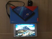 Lenovo 4.8 Tablet 16GB. Brand new, in box with receipt and new case