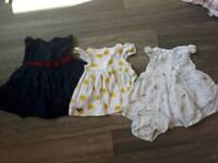 Upto 1 month dresses