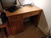 Oak Desk - Solid Wood