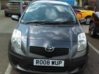 TOYOTA YARIS 2008 ONE OWNER FROM NEW 5 DOOR!