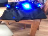 Chauvet 4Play 4x Moonflower Beam FX Light Lighting Bar + 4 Play Bag disco lights