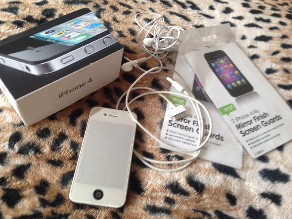 Iphone 4 16gb open to all networks almost new conditionin Mapperley, NottinghamshireGumtree - Apple iphone 4 16gb in full working order. Amazing condition as kept in casing. Opened to all networks including those abroad. Comes with box and original charger cable and headphones. Please no offers. Price stated £65