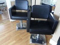 Professional hairdressing salon chairs