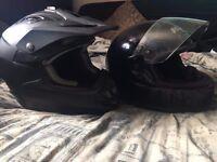 HJC Black Helmet