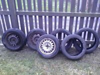 6 FREE TYRES (may be fixable)
