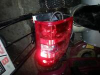 2007 to 2012 chevy tail light and 3rd break light
