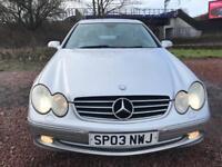 Mercedes Benz CLK240 Auto 140,000 £750