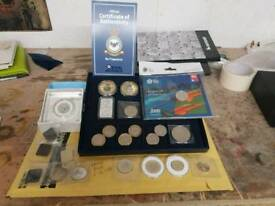 Large job lot coin collection