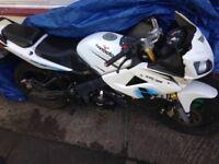Lexmoto xtrs 125cc 12plate 450£