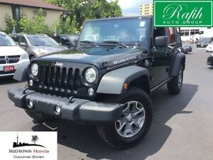 2017 Jeep Wrangler Rubicon-Navigation-Pristine condition