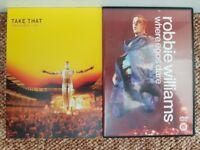 DVD Robbie Williams / Take That