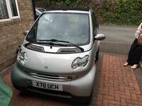 Smart car city passion convertible