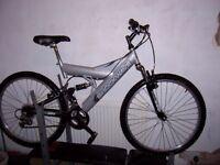 double suspension bike
