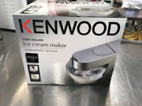 Ice Cream Maker Attachment for Kenwood Major
