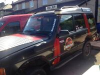 land rover discovery off roader N reg with mot
