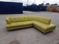 Leather corner sofa- can deliver locally