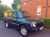 """2003 53 REG Land Rover Discovery 2 2.5 TD5 XS Station Wagon 5dr (7 Seats) """" HPI CLEAR """""""