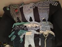 0-3 month baby boy clothes bundles