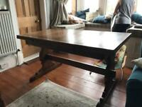 Ercol extendable dining table