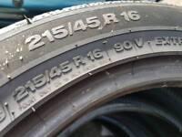 Tyres 215x45x16