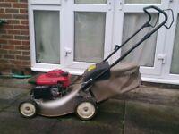 Honda 'Izy' push petrol lawnmower - excellent condition