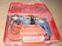 Bosch 1182.0 240v hammer drill £10