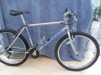 ADULTS VERY GOOD QUALITY SARACEN HARDTRAX MOUNTAIN BIKE IN GOOD CONDITION.