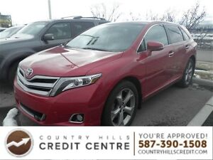 2013 Toyota Venza Limited V6/Leather/Navi/Pano Roof