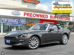 2017 Fiat 124 Spider ***Caramel leather, NAV***